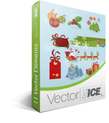 Christmas Vector Pack | Vector Xmas design elements | VectorVice