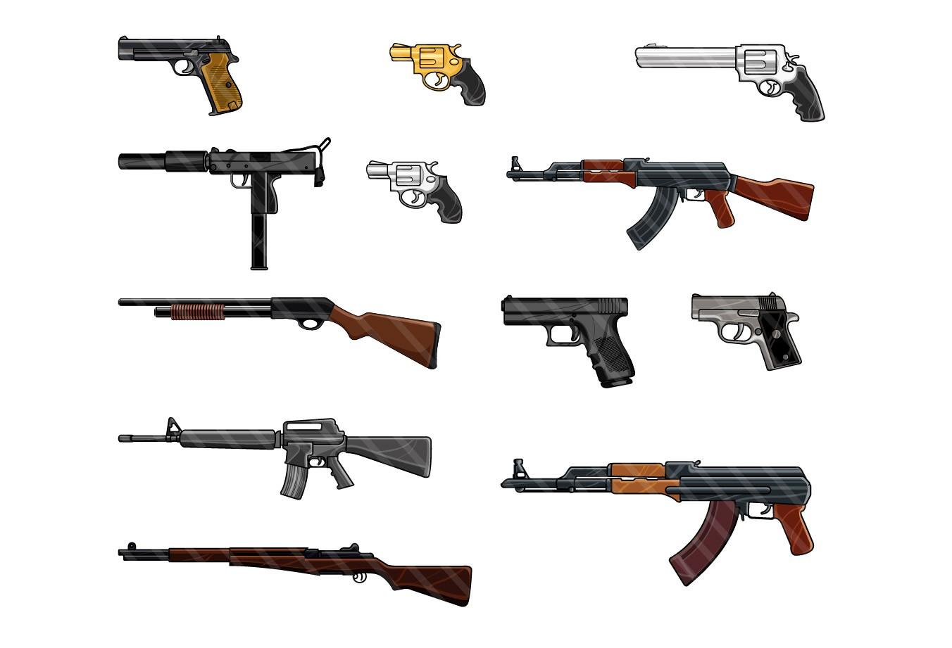 1970 Guns Gallery