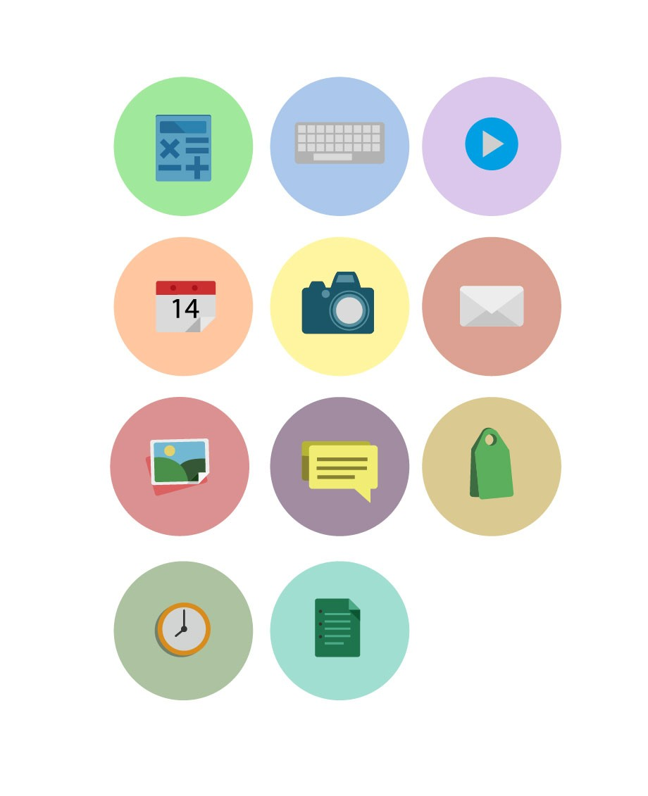 Flat UI Icons Vector Pack   Vector Icons   VectorVice (11 EPS files)