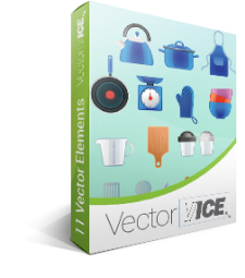 Kitchen Utensils Vector Pack