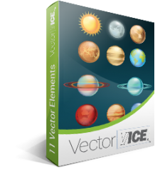 Solar-System-Planets-vector-graphics-pack