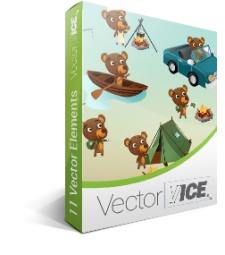 Bear Vector Pack | Vector Graphics | VectorVice