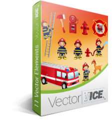 Firefighter Vector Pack