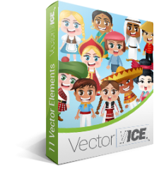 People of the World Vector Pack