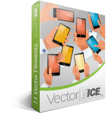 Mobile Demo Vector Pack