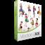 Shopping Girls Vector Pack