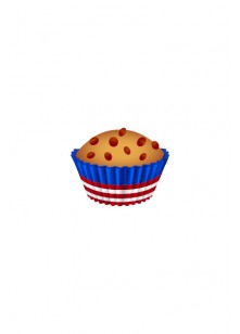 4th July Vector Pack | Cupcake Vector Image | VectorVice
