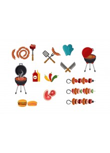 Barbeque Vector Pack | Vector Graphics | VectorVice