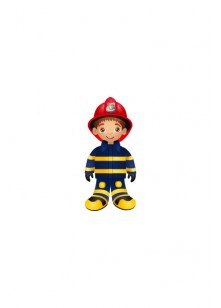 Firefighter Vector Pack | Firefighter Vector Image | VectorVice