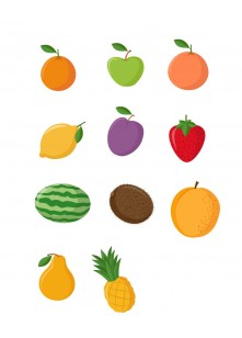 Fruits Vector Pack | Vector Files | VectorVice