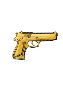 Gang Vector Pack  | Gun Vector Image | VectorVice