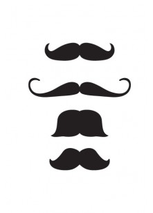 Hipster Moustache | Vector Elements | VectorVice