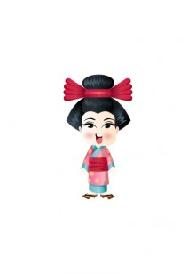 Japanese Vector People | Vector Character | VectorVice