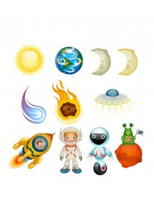 Space Vector Pack | Vector Graphics | VectorVice