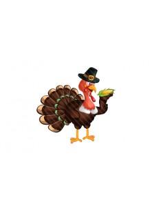 Thanksgiving Vector Turkey Graphics