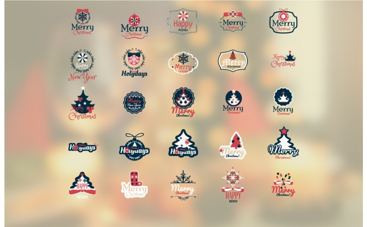 christmas-badges-vector-packs