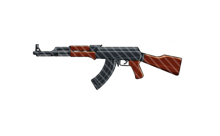 ak-47-gun-vector-graphics-pack