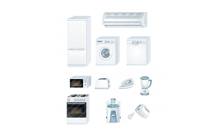 Household-Appliances-vector-image