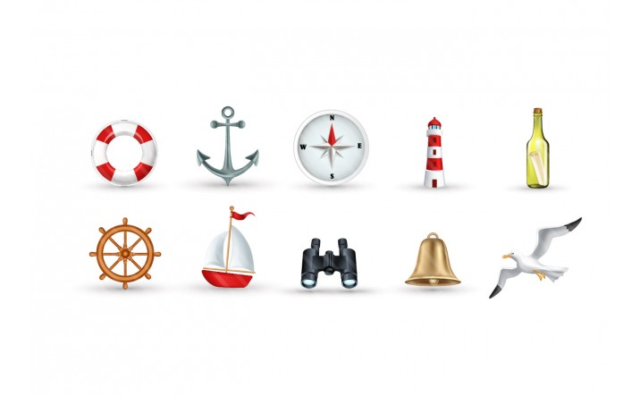 Marine-icons-vector-packs