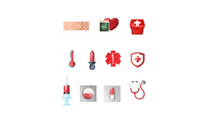 Medical-Icons-vector-graphics-pack