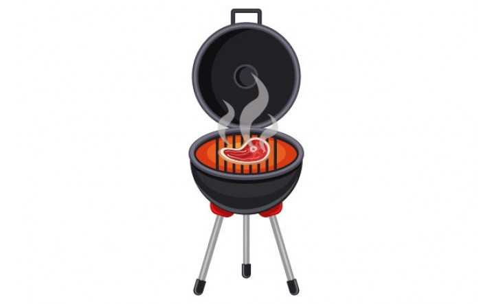 Barbeque Vector Pack | Grill Steak Image | VectorVice