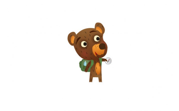 Bear Vector Pack | Bear Backpack Vector Image | VectorVice