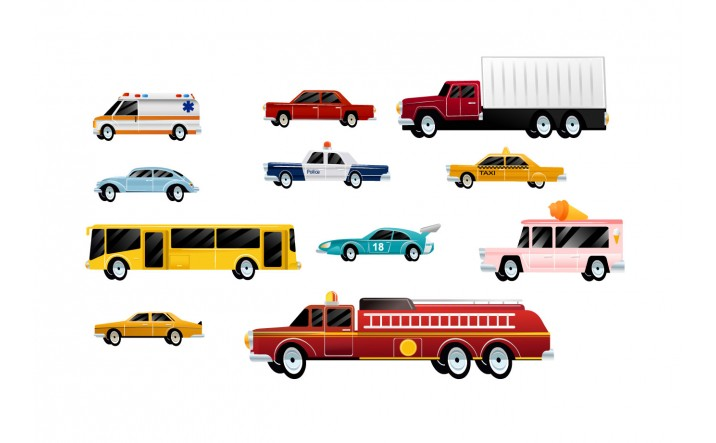 Cars Vector Pack | Vector Unique Vehicle | VectorVice