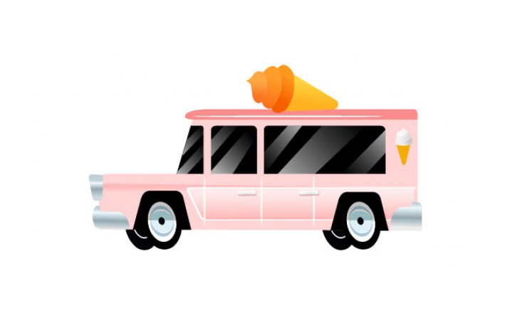 Cars Vector Pack | Vector Icecream Vehicle | VectorVice