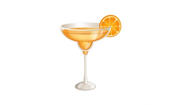Cocktails Vector Pack | Orange Cocktail Vector Image | VectorVice