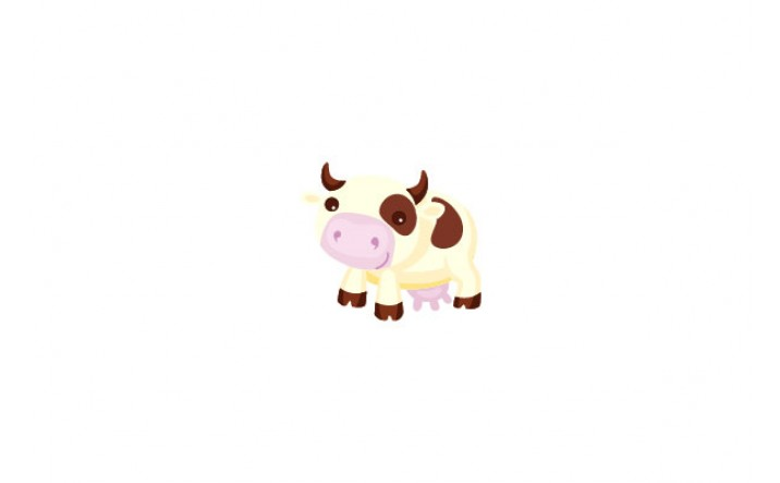 Farm Animals Vector Pack | Cow Vector Image | VectorVice