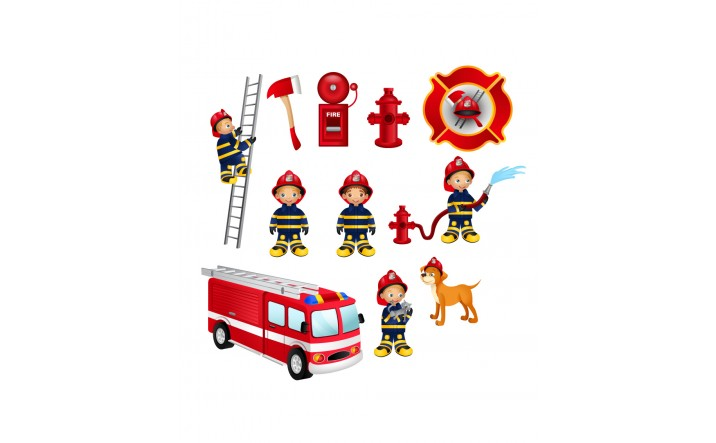 Firefighter Vector Pack | Vector Elements | VectorVice