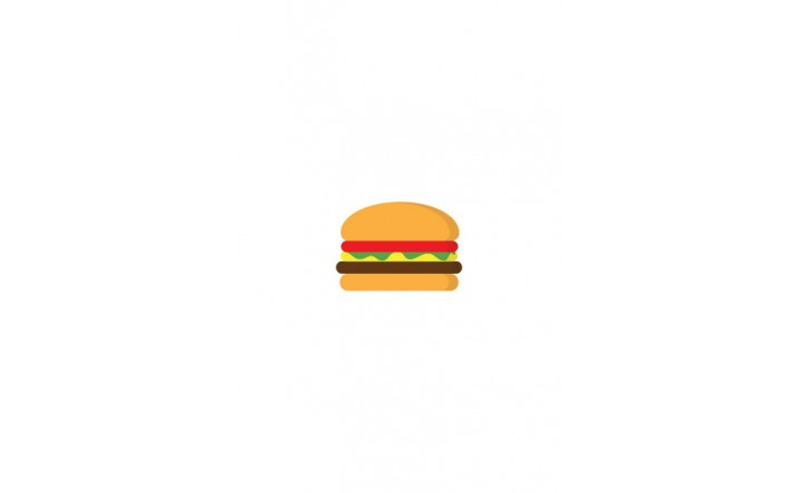 Food icon | Hamburger Vector Image| VectorVice
