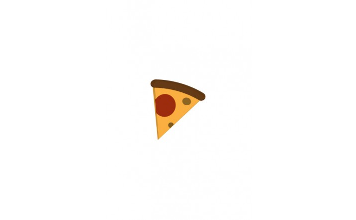 Food icon | Pizza Slice Vector Image| VectorVice