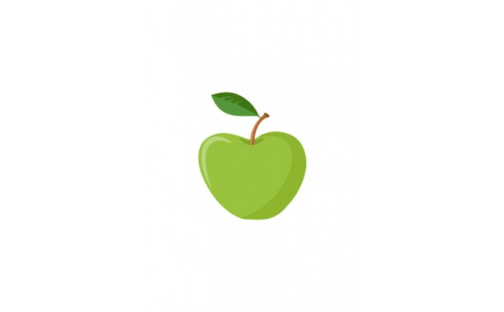Fruits Vector Pack   Apple Vector Image   VectorVice