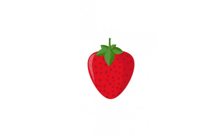 Fruits Vector Pack | Strawberry Vector Image | VectorVice