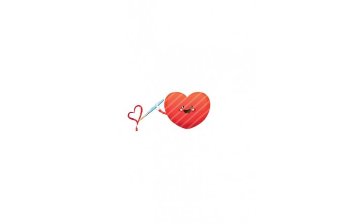 Valentines Day Vector Pack | Heart Painting Vector Image| VectorVice