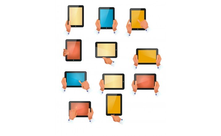 Tablet Device Vector Pack | Vector Devices | VectorVice
