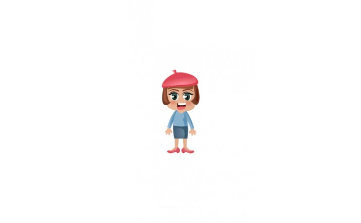 French Vector People | Vector Character | VectorVice