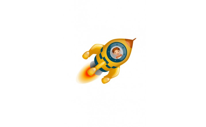 Space Vector Image Spaceship Rocket | Vector Space Rocket | VectorVice