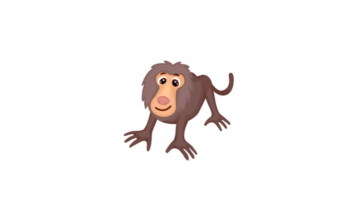 Wild Animal Vector Pack | Baboon Vector Image | VectorVice