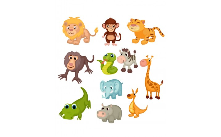 Wild Animal Vector Pack | Vector Graphics | VectorVice