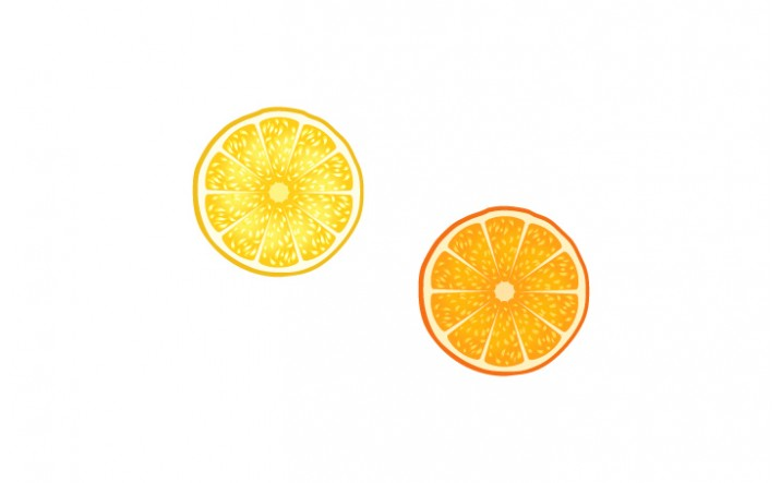 Summer Cocktails Vector Pack | Orange Vector Image| VectorVice