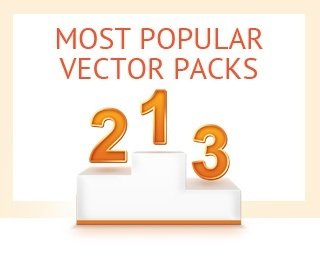 Most popular vector packs