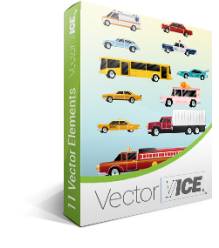 Cars Vector Pack | Vector Police Vehicle | VectorVice