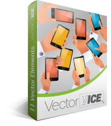Mobile Demo Vector Pack | Vector Devices | VectorVice