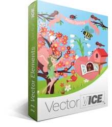 Spring Vector Pack | Vector Graphics | VectorVice