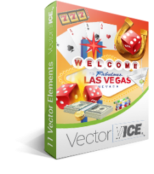 Casino Gambling Vector Pack