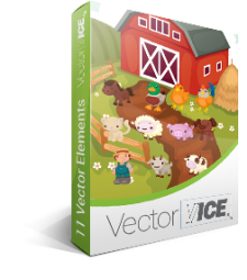 Farm Animals Vector Pack