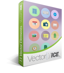 Flat UI Icons Vector Pack