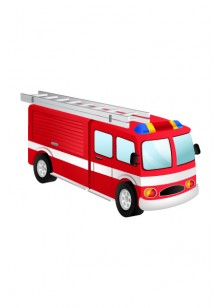 Firefighter Vector Pack | Fire truck Vector Image | VectorVice